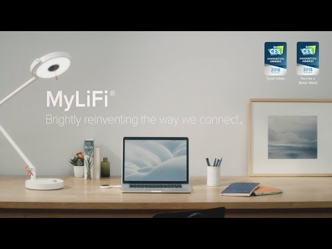 MyLiFi, Brightly reinventing the way we connect New Technology Tech World
