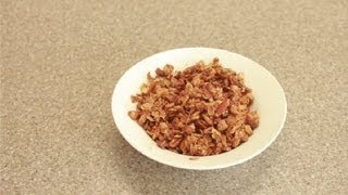 Crunchy Granola Recipe : Snacks & Salads