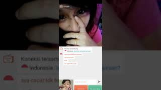 Ome Tv Wanita Pura Pura cacat ga bisa ngomong :v
