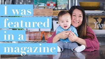 I WAS FEATURED IN A MAGAZINE! // Chicago Parent Sept 2018 Issue