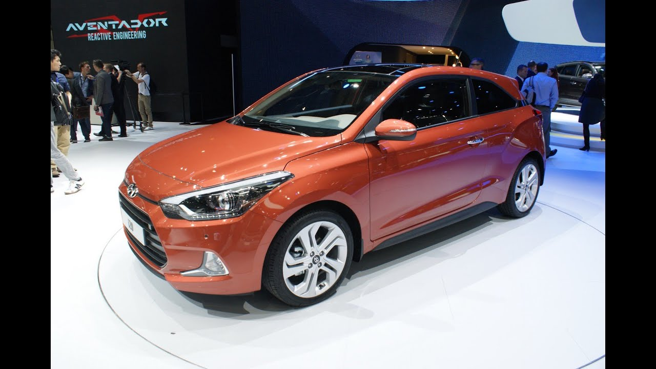 new hyundai i20 coupe 2015 geneva motor show youtube. Black Bedroom Furniture Sets. Home Design Ideas