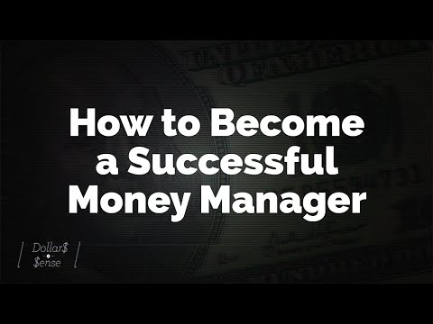 How to Become a Successful Money Manager