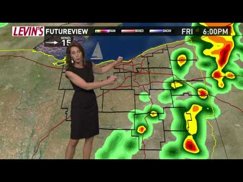 6 p.m. weather forecast for Aug. 4, 2017