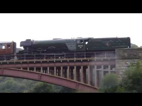 Flying Scotsman - Severn Valley Railway - Victoria Bridge