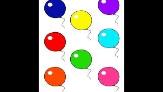 Учим цвета на русском языке – развивающее видео для детей. Цвета на русском языке.