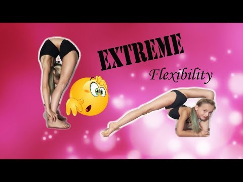Extreme Flexibility Tricks with Lilly K