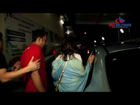 UNCUT - MADHURI DIXIT WITH FAMILY SPOTTED AT PVR CINEMA JUHU