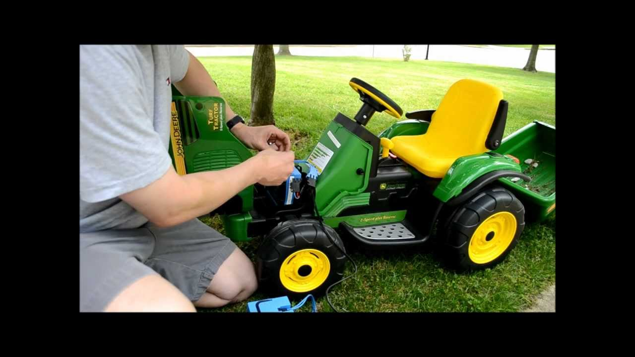 how to know if peg perego battery is charged