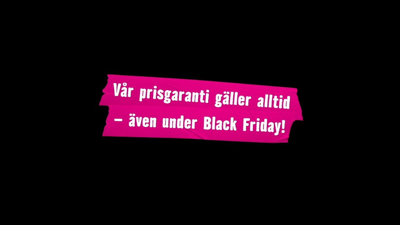 prisgaranti black friday