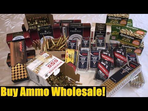 Save money on ammo!  Buy ammo wholesale!