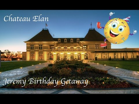 WEEKEND GETAWAY - CHATEAU ELAN
