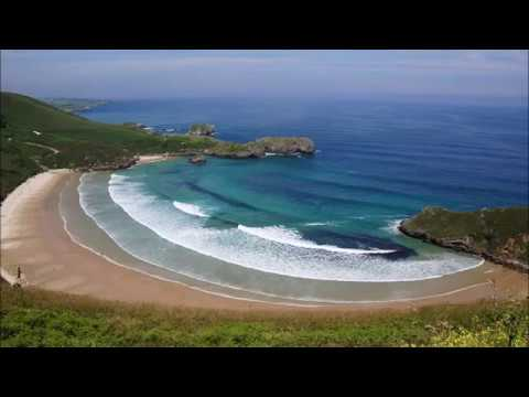 Places to see in ( Asturias - Spain ) Llanes Beach