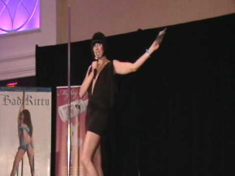 MC Emilee Wilson Opens the Bad Kitty Fashion Exhibition