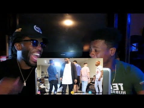 AR'MON ND TREY SPLIT UP IN FRONT OF COMPANY PRANK!!!! *REACTION!!!*