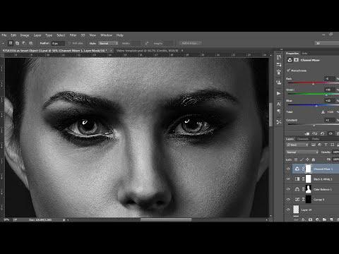 Beauty Retouching - photoshop cc