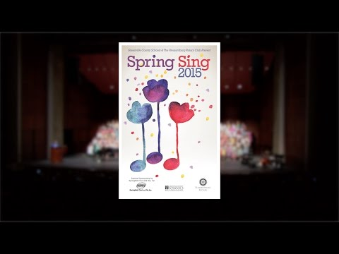 Greenville County Schools Spring Sing 2015