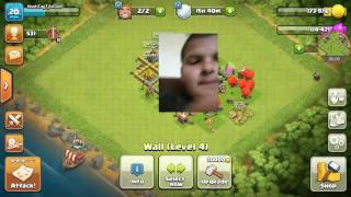 HE Used So Many Troops On Me On Clash Of Clans.Come And Watch And Subscibe If Your New!!(1)
