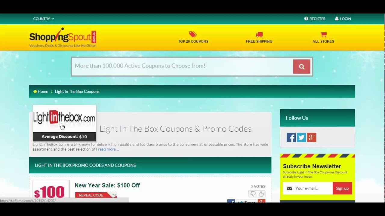 Light In The Box Online Coupon Codes And Online Promo Codes