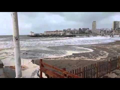 Sudestada en Mar del Plata - 0223