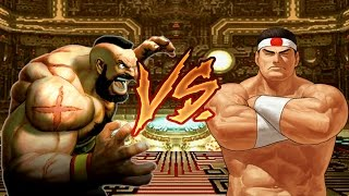 Mugen Zangief VS Goro (Street Fighter VS King Of Fighters)