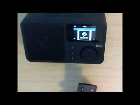Ocean Digital Internet Radio WR233 WiFi Wlan Connection Music Media Player Alarm Clock