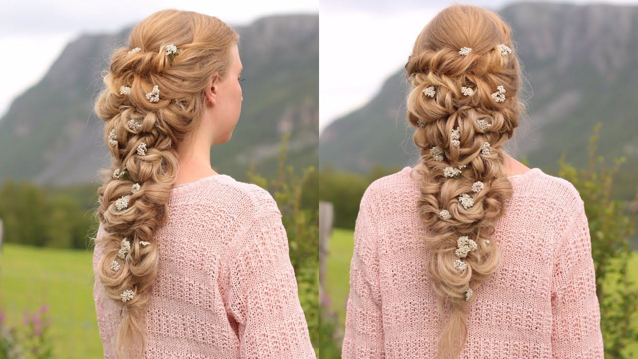Twisted Wedding Hairstyle