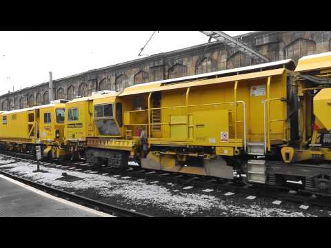 Network Rail Track Machines at Carlisle - DR 73118 and DR 77905 26th January2013.m2ts