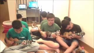 Glad You Came ukulele cover- Fucking nightmare