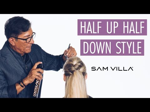 Half Up Half Down Hairstyle Tutorial