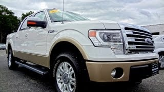 2013 FORD F-150 LARIAT SUPERCREW CAB