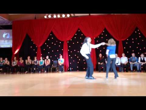 DCSX 2012 Novice J&J final spotlight Miles Horton & Noelle Van Woert
