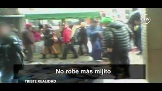 """Joven que dejó de robar hace cinco meses: """"No da para más, el Estado no nos ayuda"""" - CHV NOTICIAS"""