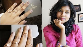 Caratlane Valentine Jewellery - Caratlane Unboxing   Caratlane Reviews by AdityIyer