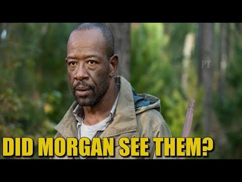 The Walking Dead Morgan Whisperer Theory - Did Morgan See Them?