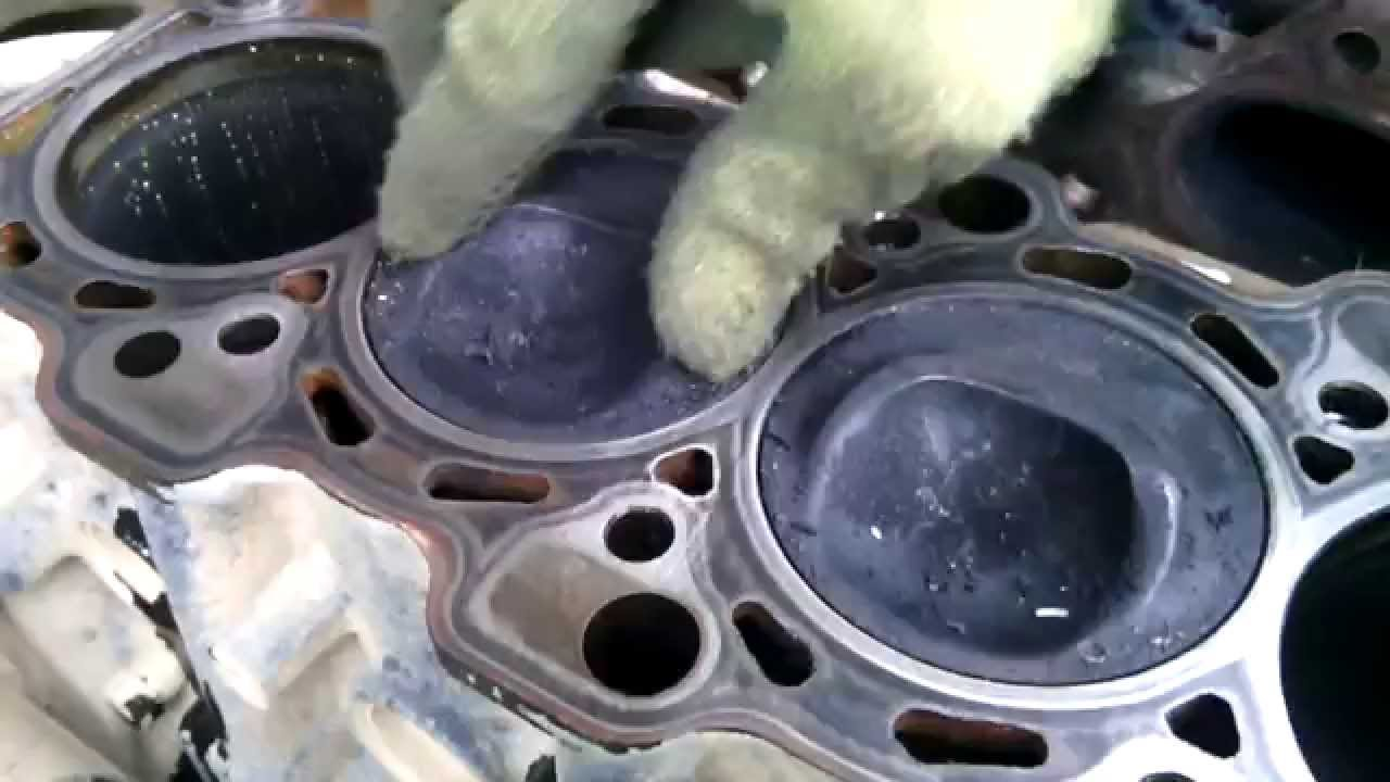 Mitsubishi Pajero стук поршней 4G94 GDI