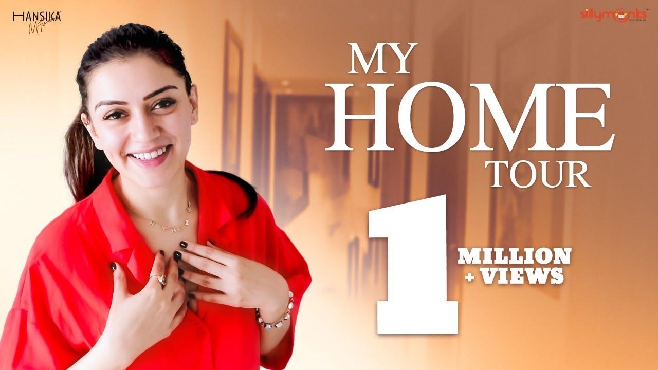 Download My Home Tour | Inside Hansika Motwani's House | Hansika Motwani | Silly Monks