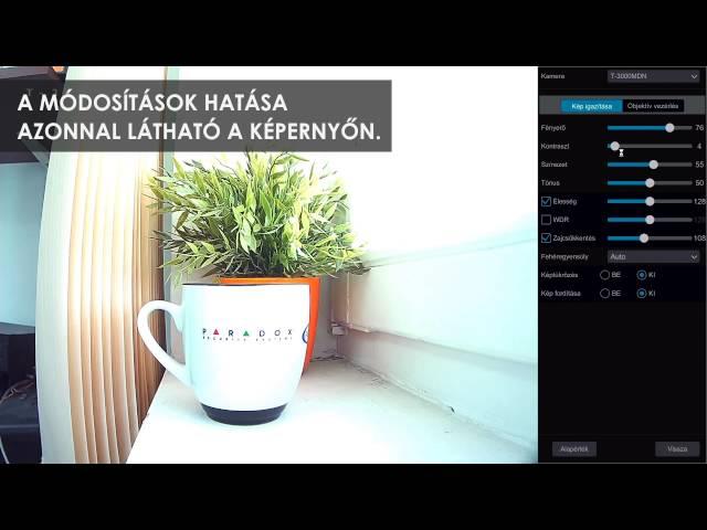 Techson SmartSpeed - Kamera paraméterek, színezet
