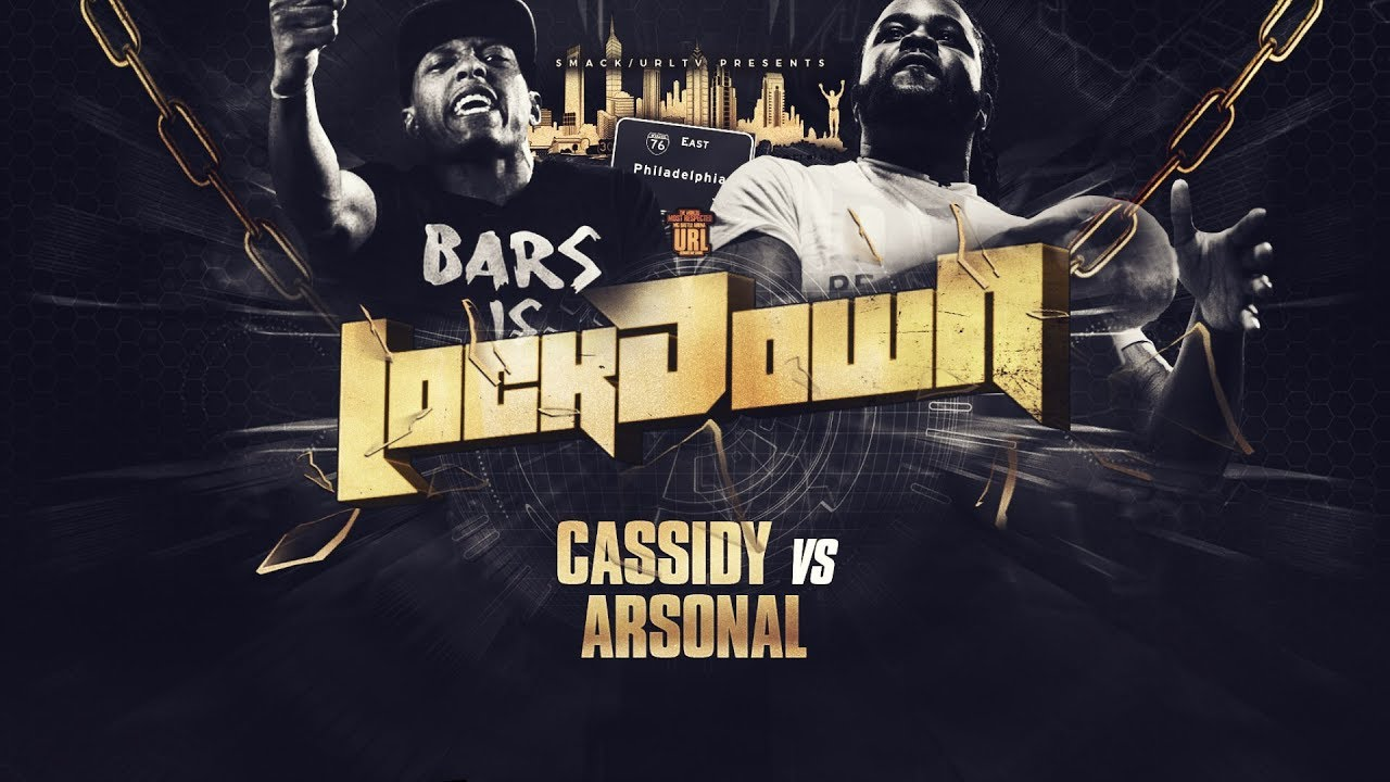 CASSIDY VS ARSONAL RAP BATTLE   URLTV