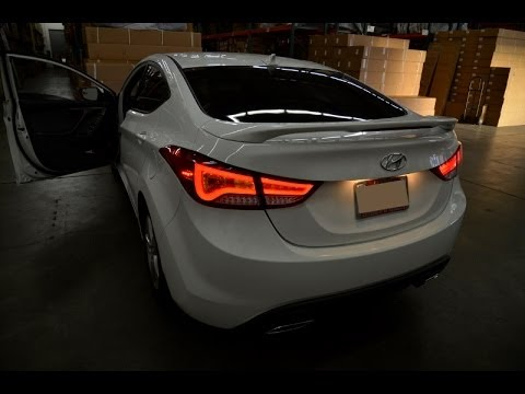 11 14 Hyundai Elantra Led Taillight Www Advan Emotion Com