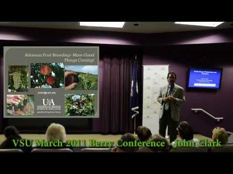 Blackberry Expert and Breeder - John R Clark