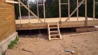 Строительство студии и жилого дома (каркасные здания). Часть 1.(Строим вдвоем, своими руками., 2016-07-24T18:03:24.000Z)