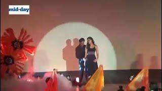 Shah Rukh Khan, Kajol at 'Gerua' song launch