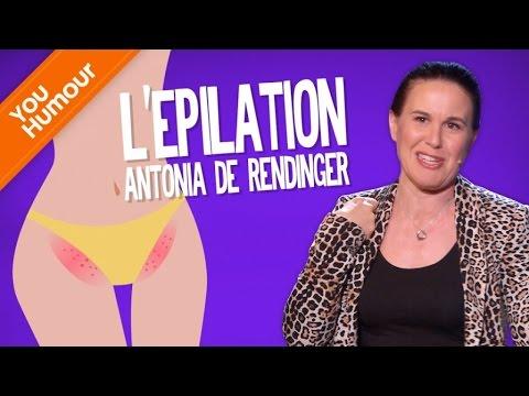 ANTONIA DE REDINGER - L'épilation
