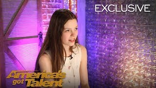 Courtney Hadwin Thanks Howie Mandel For Sending Her To Live Shows   America's Got Talent 2018