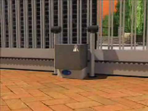 Puertas correderas motor bft icaro 2000kg youtube for Puertas correderas sodimac