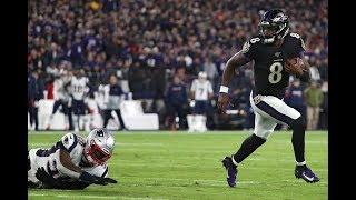Lamar Jackson   2019 First Half Highlights ᴴᴰ
