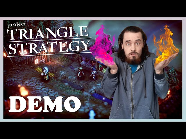 A JRPG Game of Thrones - PROJECT TRIANGLE STRATEGY DEMO Impressions - Billybae10K