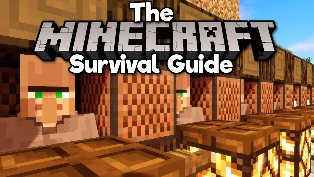 Villager Trading Hall! ▫ The Minecraft Survival Guide (Tutorial Lets Play) [Part 65]
