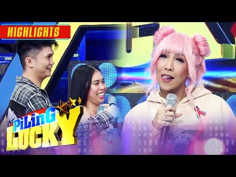 Vice refuses to give Neri the envelope | It's Showtime Piling Lucky