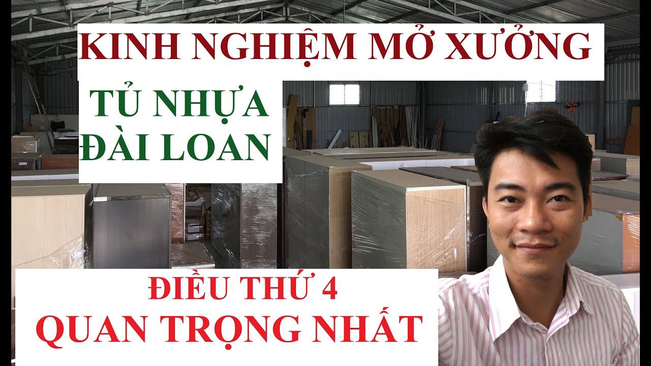 Mở xưởng tủ nhựa đài loan   Kinh nghiệm mở xưởng tủ nhựa đài loan